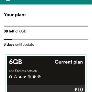 Voxi 10镑12GB网络