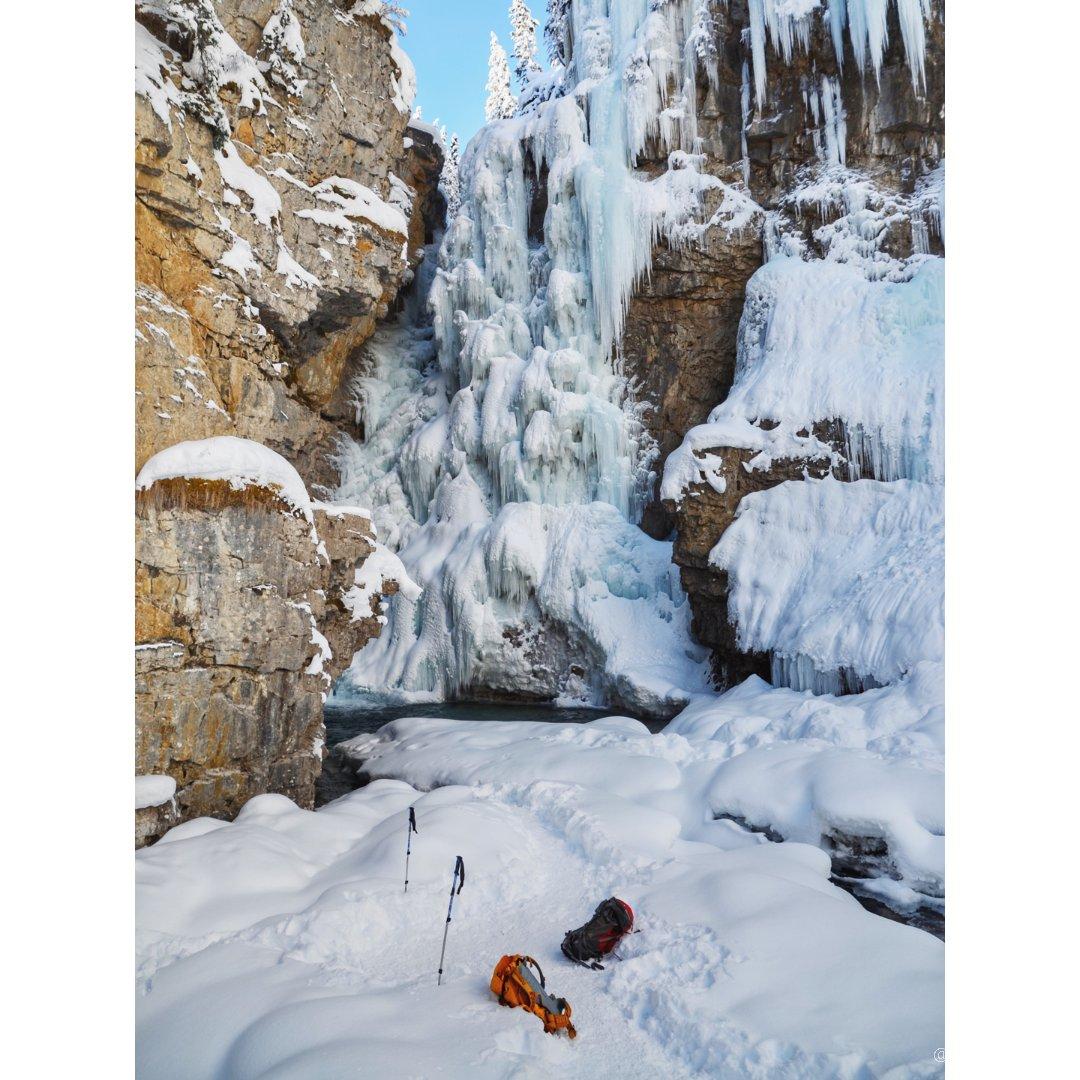 冬季班夫,大自然的大门永远为我们敞开