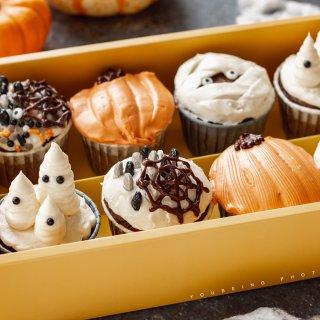 【周四下午茶】万圣节,来玩杯子蛋糕吧!...