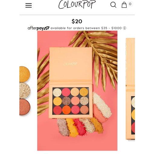 Colourpop终于到手了!!!