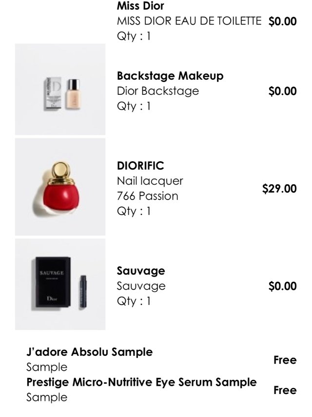 Dior第二单