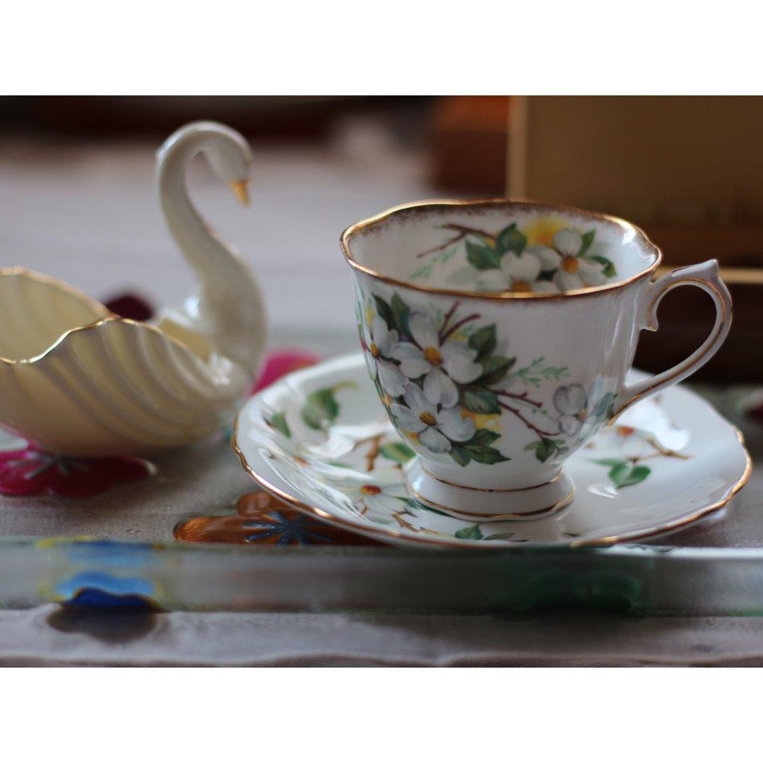 Royal Albert 手绘杯子