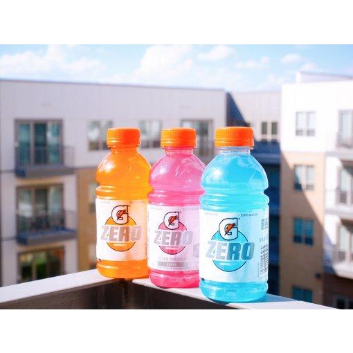 减肥也能喝饮料!0卡果味气泡水、能量饮料、果汁软糖