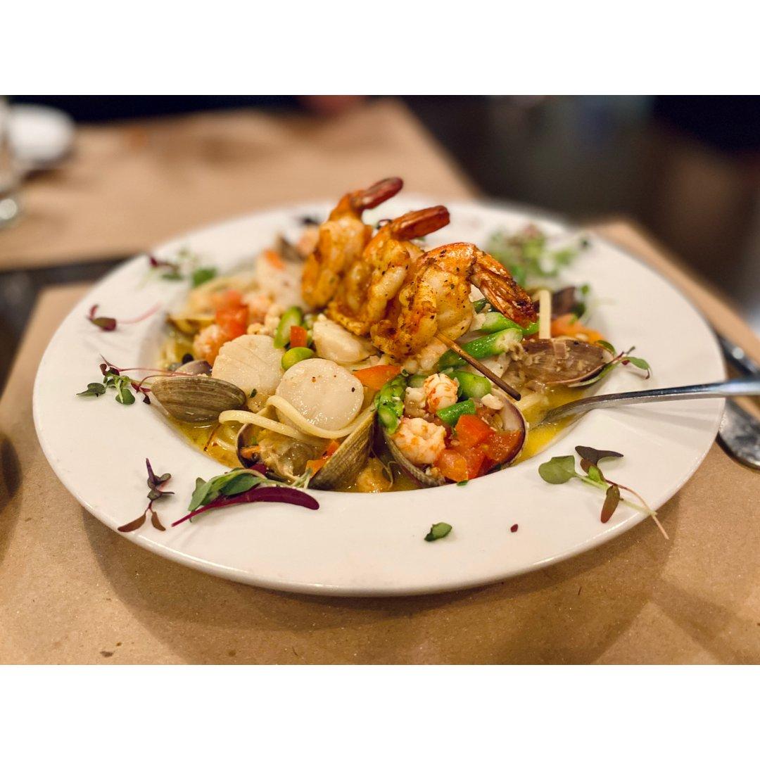 美食 意大利餐厅的海鲜晚餐体验 ②