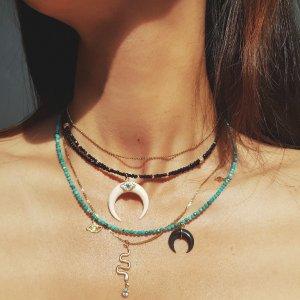 18ct 海水珍珠黄金项链