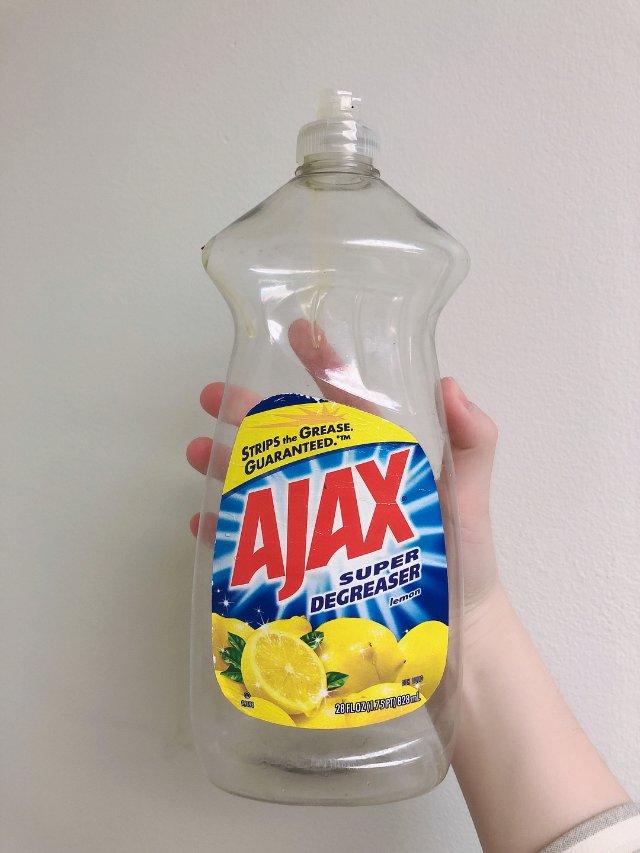 洗洁精空瓶:AJAX
