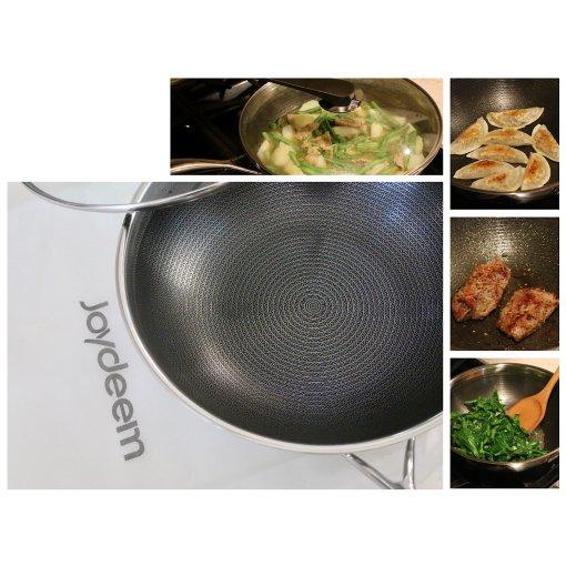 家里来了一口锅🍳Joydeem炒锅,少油不粘厨房神器❤️