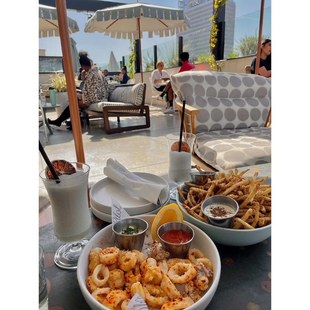 LA探店🌞Pilot網紅摩洛哥風天台酒吧...