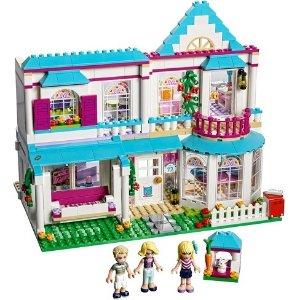 $47.99 (原价$69.99) 包邮LEGO® 朋友系列 Stephanie 的豪华小屋