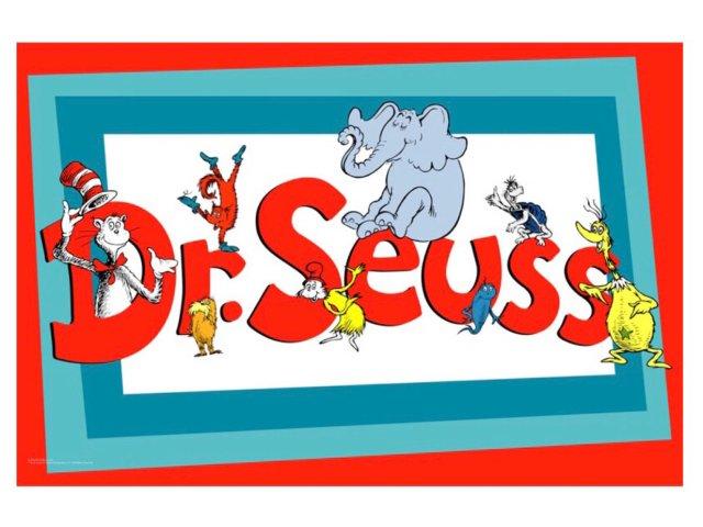 旧图——Dr Seuss Week