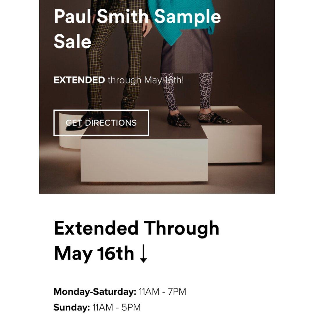 纽约 Paul Smith Sample...