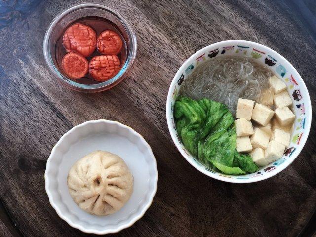 「食谱」一鸭两吃之粉丝豆腐鸭架汤