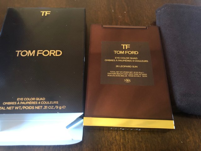 Tom Ford Leopard sun