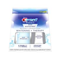 Crest 3D White 美白牙贴28片 + 强化珐琅质牙膏套装