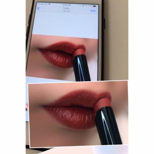 这只口红色差这么大?不同Iphone也有色差!