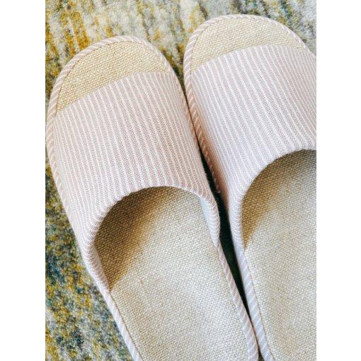 网易严选 |居家好物 清新自然棉麻拖鞋