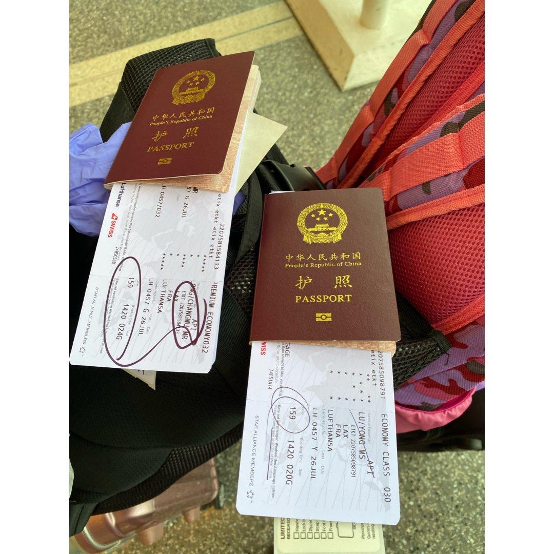 洛杉矶国际机场安检  比较顺利