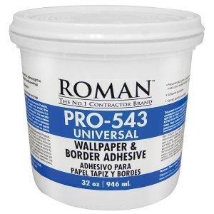 ROMAN PRO-543 1 qt. Universal Wallpaper Adhesive-209902 - The Home Depot