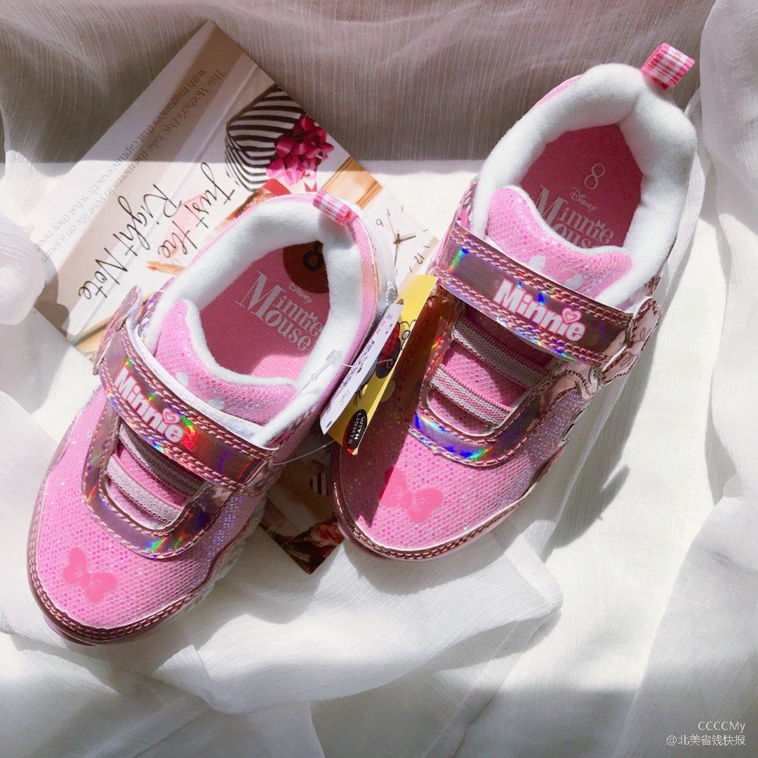 Pink超可爱Disney儿童运动鞋👟