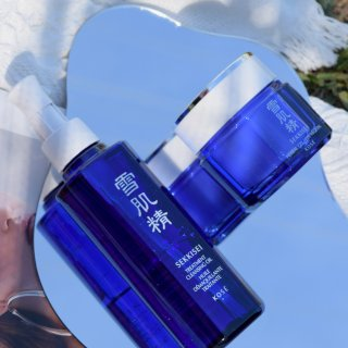 【雪肌精】产品测评|蓝天白云下你的皮肤似...