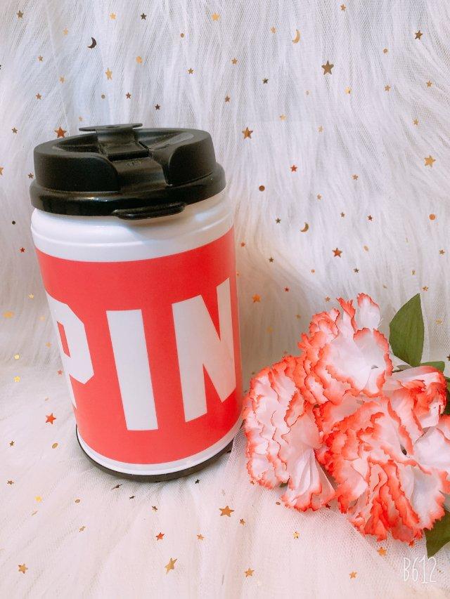 粉色之pink水杯