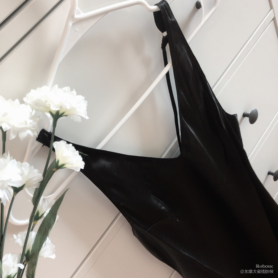 空气感的真丝露背睡裙 法式优雅风…...