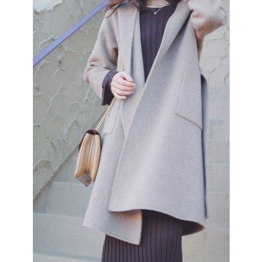 Quaint微众测|入秋的第一件时尚羊毛大衣就穿它!