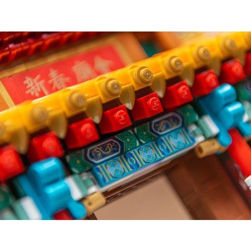 乐高·中国新年庙会🏮细节展示(众测晒货)