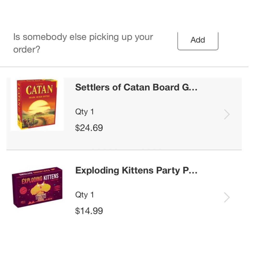 Target买了两个桌游