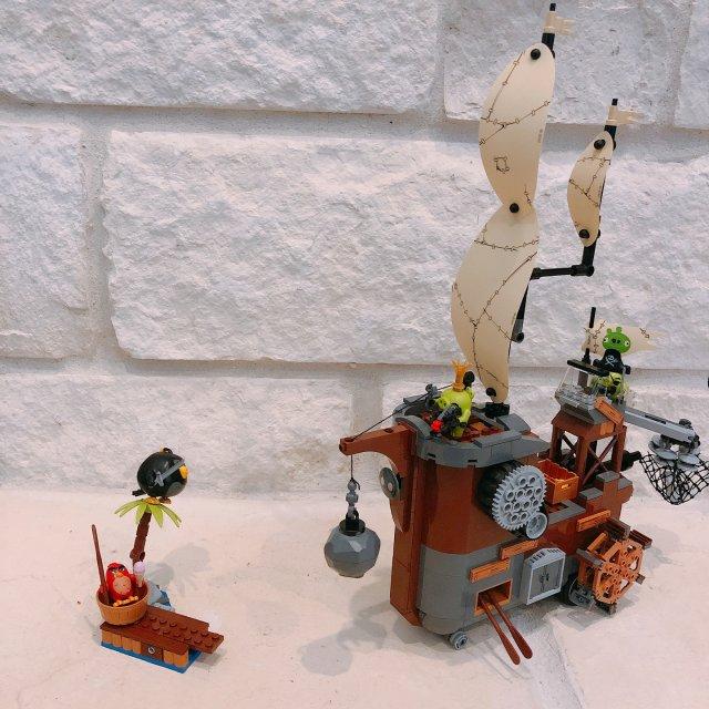 LEGO愤怒的小鸟