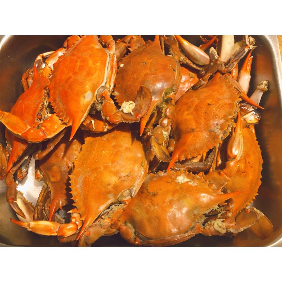 今天的战利品螃蟹