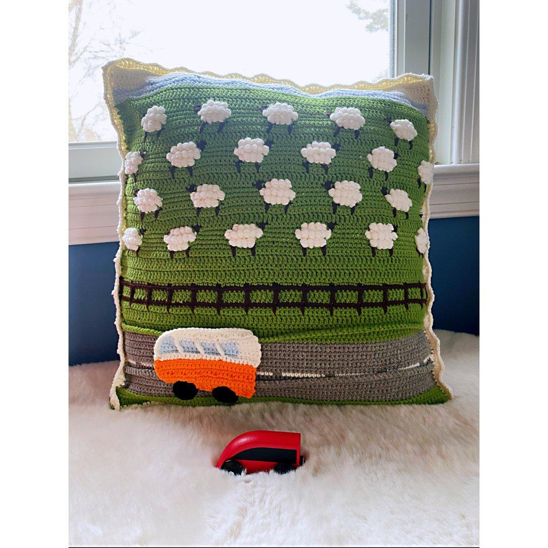自己动手给小朋友做一个特别的抱枕