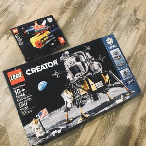 新品 NASA阿波罗11号月球着陆器10266