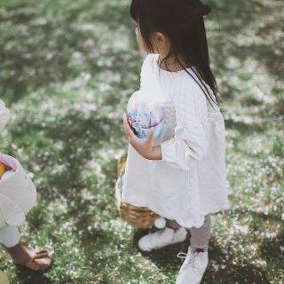 樱花🌸下捡蛋,复活节的浪漫...