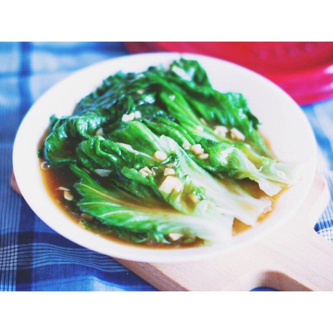 夏季轻食   蚝油生菜