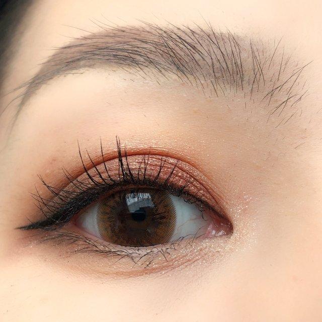 平价眼影也好用,日常红棕色眼妆分享