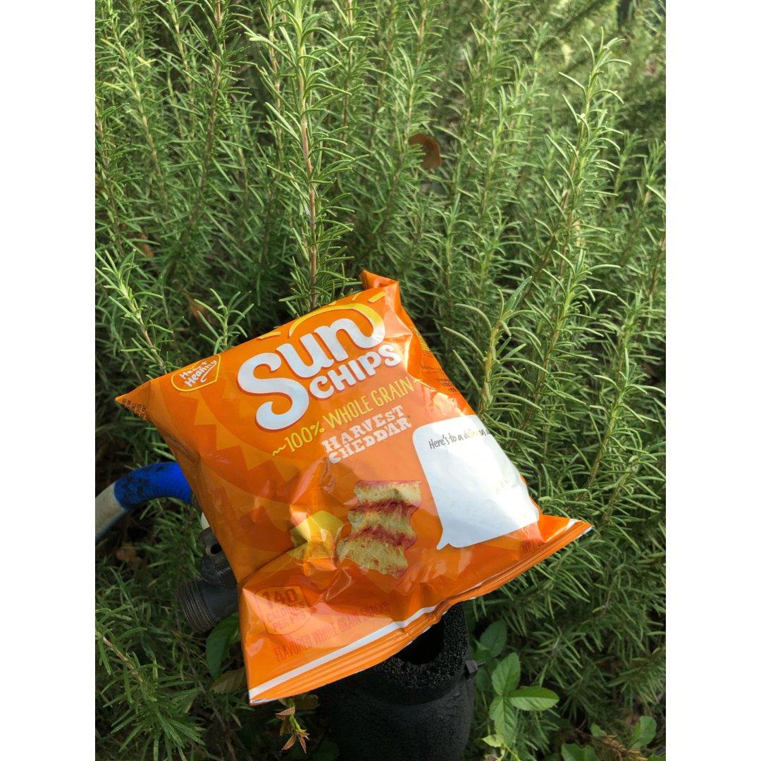 推荐一款好吃的薯片Sun chips