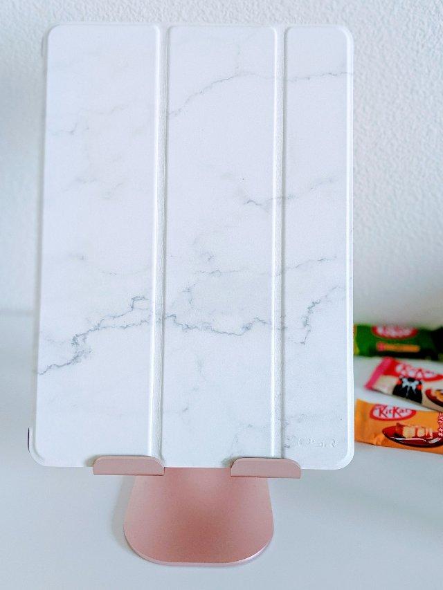 #iPad周边| 大理石纹保护壳,...