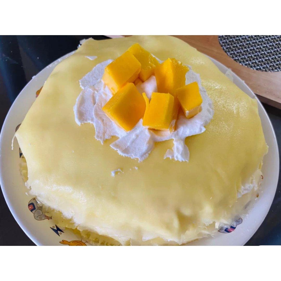 0⃣️失败芒果千层蛋糕|小白也易上...