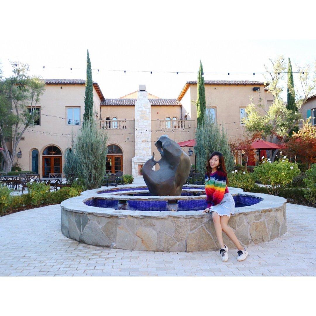加州中部義大利風格庭院飯店,在加州...