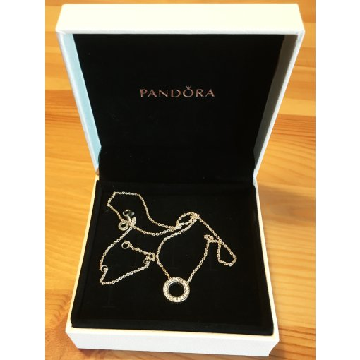 Pandora 潘多拉项链  圆满的❤️