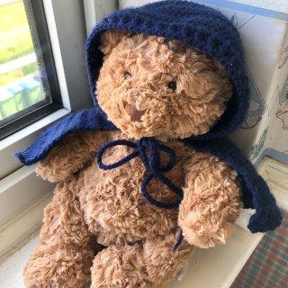 终于收到jelley cat的熊崽崽了🐻...