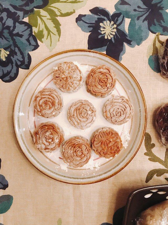 ㊗️中秋,手做冰皮月饼(超级软糯🥮🥰