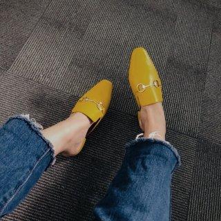 收到新鞋,我已经开始期待春天了!...