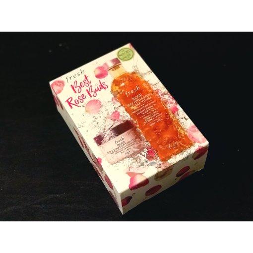 丝芙兰扫货—超值fresh玫瑰套装