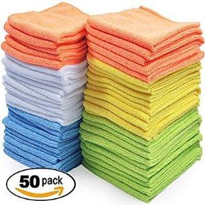 $15.99 包邮史低价:Best 超细纤维清洁布50条