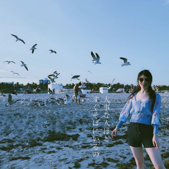 迈阿密短暂度夏|海边度假穿什么|F...