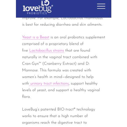 微众测 | Lovebug益生菌全家桶