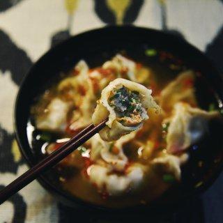 酸汤水饺🥟 饺子你喜欢什么馅?喜欢怎么吃...