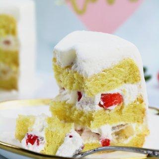 情人节限定鲜奶油蛋糕|Love❤️...